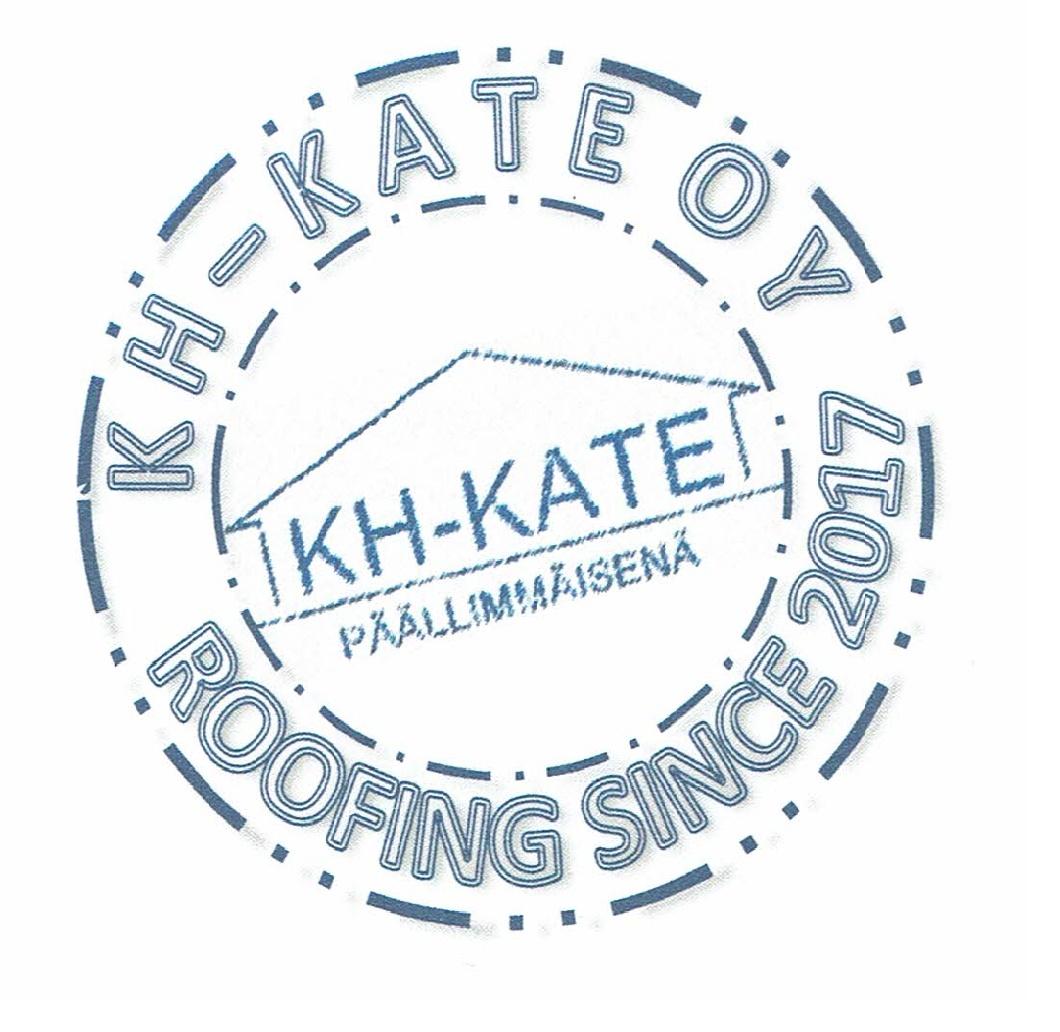KH Kate Oy leimasin